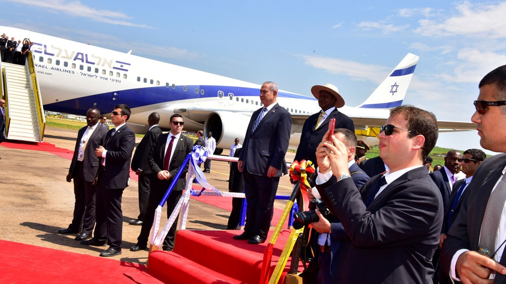 Benjamin Netanyahu embarks on four-country tour, becoming first Israeli prime minister to visit continent in 30 years.