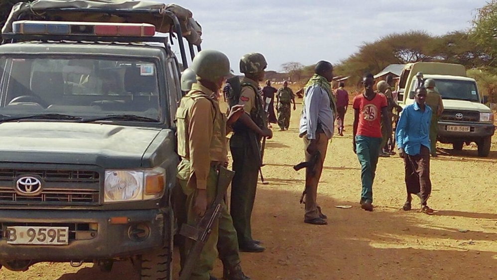 Police say more than 100 fighters attacked station near border with Somalia, making off with about 10,000 bullets.