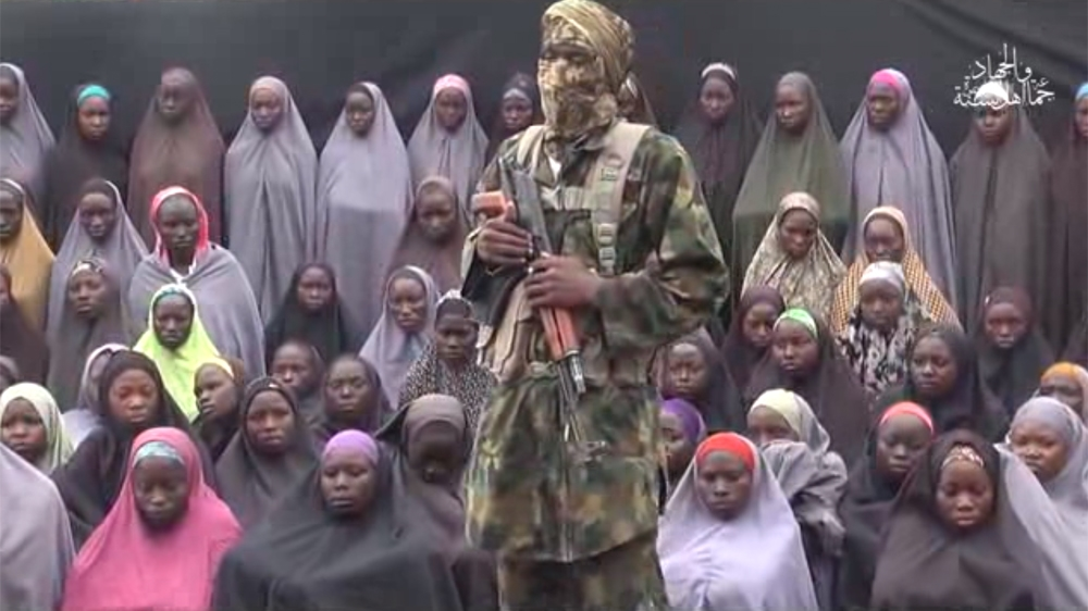 Presidential spokesman says 21 of the more than 200 girls abducted by the armed group in April 2014 have been freed.