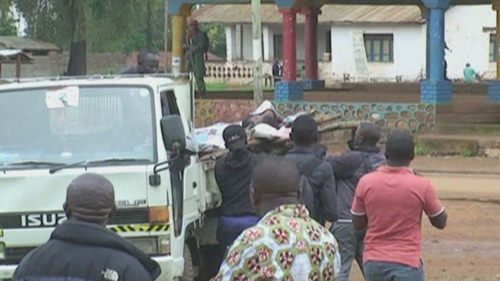 At least 64 bodies recovered near Beni town in North Kivu, but local authorities warn death toll could rise.