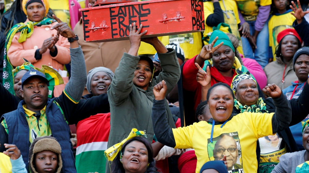 Opposition parties are calling time on ANC's dominance, but it would be foolish to rule party out.