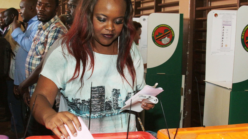 Regulator suspends licences for one TV and two radio stations, saying they had posed a risk to peace during election.