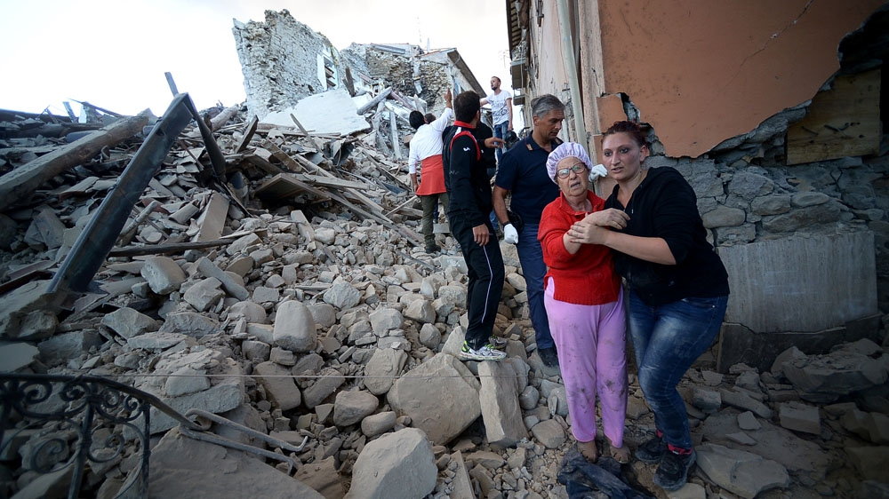 Earthquake hits near Umbria in central Italy