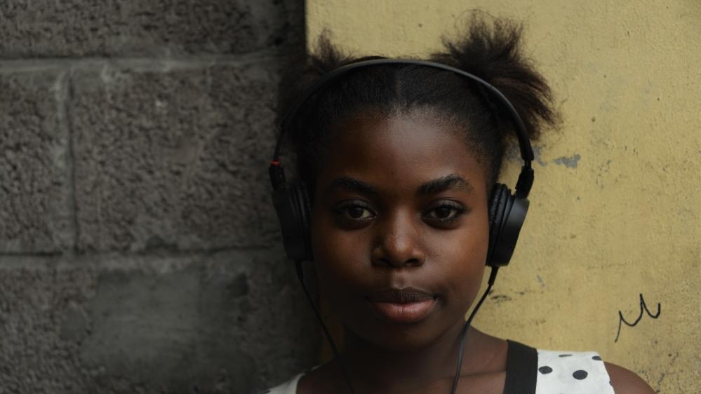 Street children in the DR Congo capital make their voices heard through a stigma-busting community radio initiative.