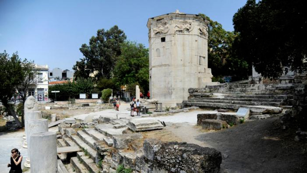 Athens: World's 'first weather station' opens to public