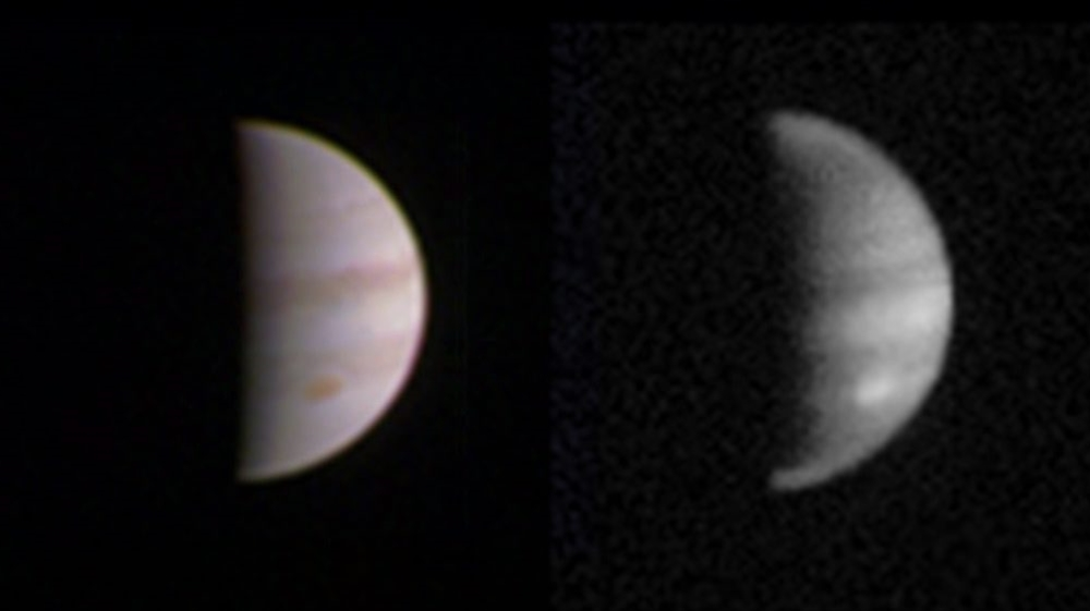 Juno space probe makes closest approach to Jupiter