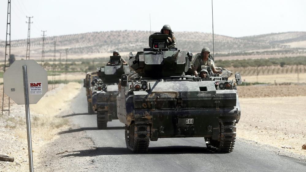 Turkey and Syrian Kurdish forces