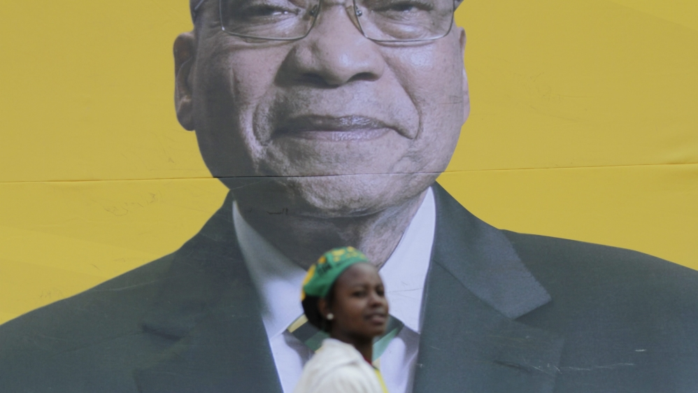 South Africa's governing African National Congress has been dealt a severe blow in local elections.