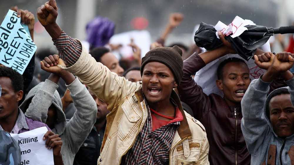 Horn of Africa nation has seen months of protests during which rights groups say security forces have killed hundreds.