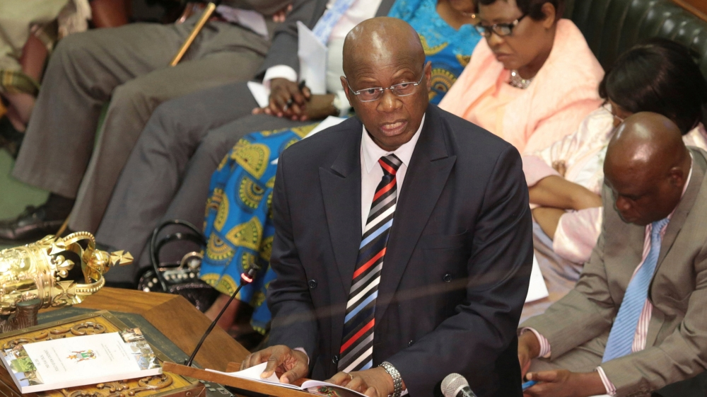 Finance minister says the country is struggling to pay civil servants whose salaries take up 96.8 percent of the budget.