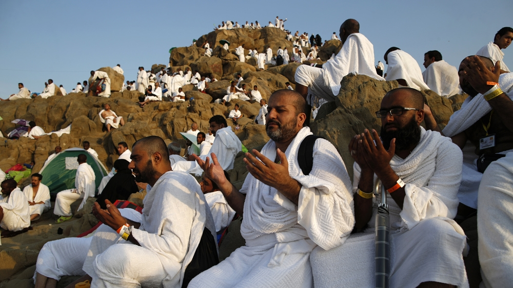Hajj 2016 Pilgrims Gather At Mount Arafat For Key Rite