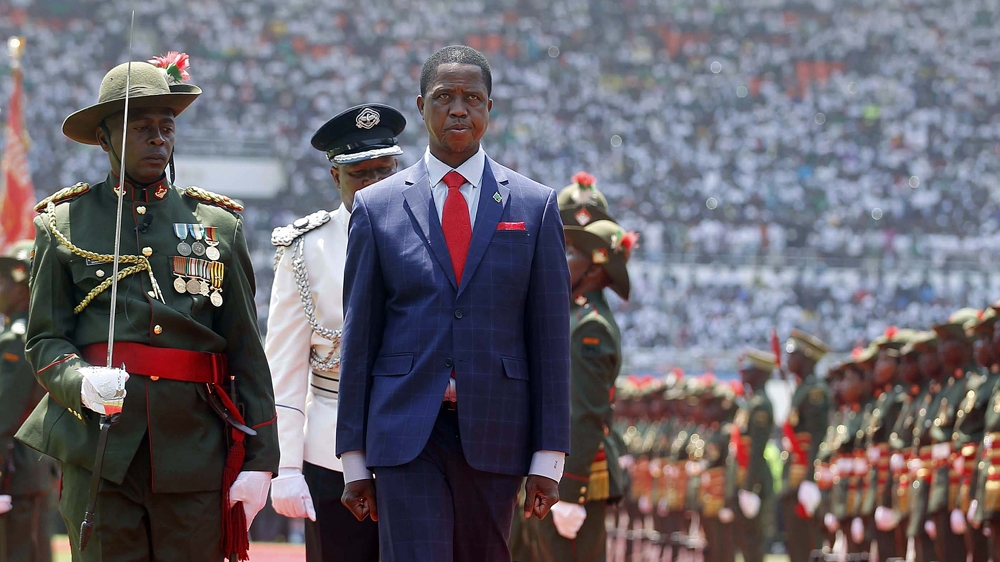 Edgar Lungu inaugurated as president, after court bid by opposition leader fails to block swearing-in ceremony.