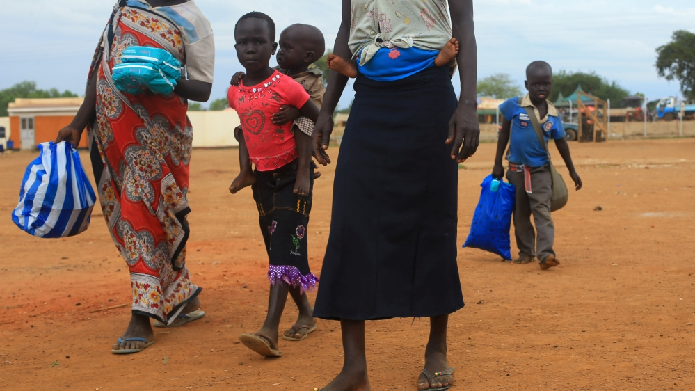 UN says most of those fleeing South Sudan are women and children, including survivors of violent attacks.