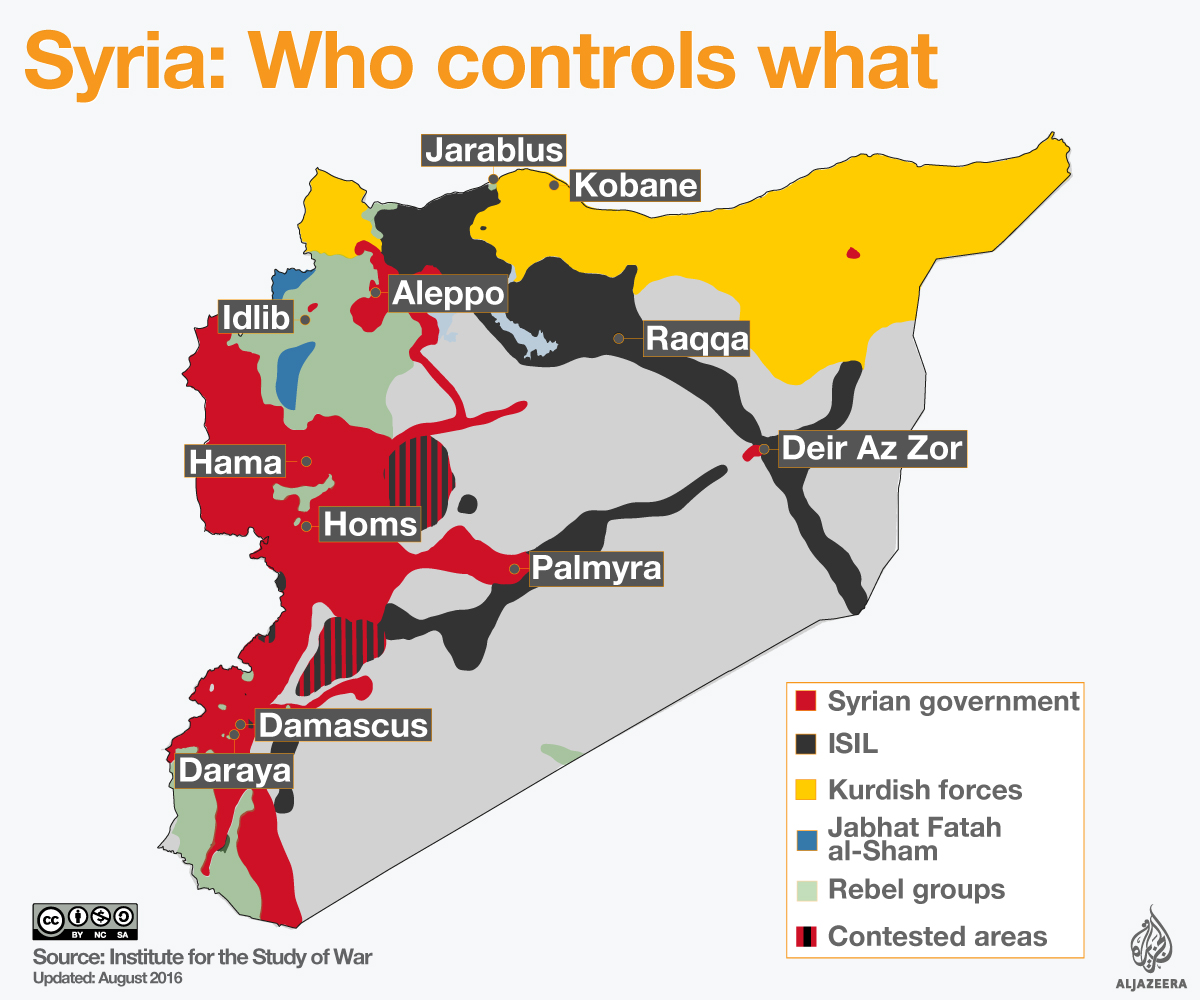 Syrias Civil War US And Russia Clinch Ceasefire Deal Russia - Russia and us map