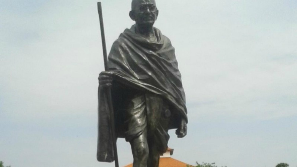 Campaigners urge removal of Indian social activist's statue from university, saying he was racist towards black people.