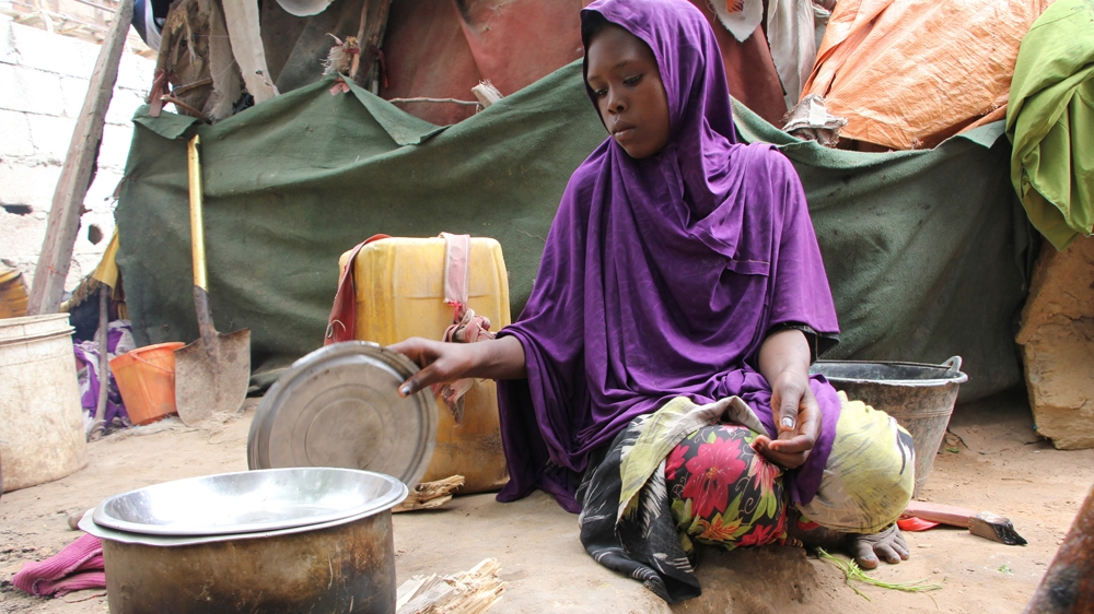 """""""Serious concern"""" of famine raised with five million people suffering through food shortages amid drought and conflict."""