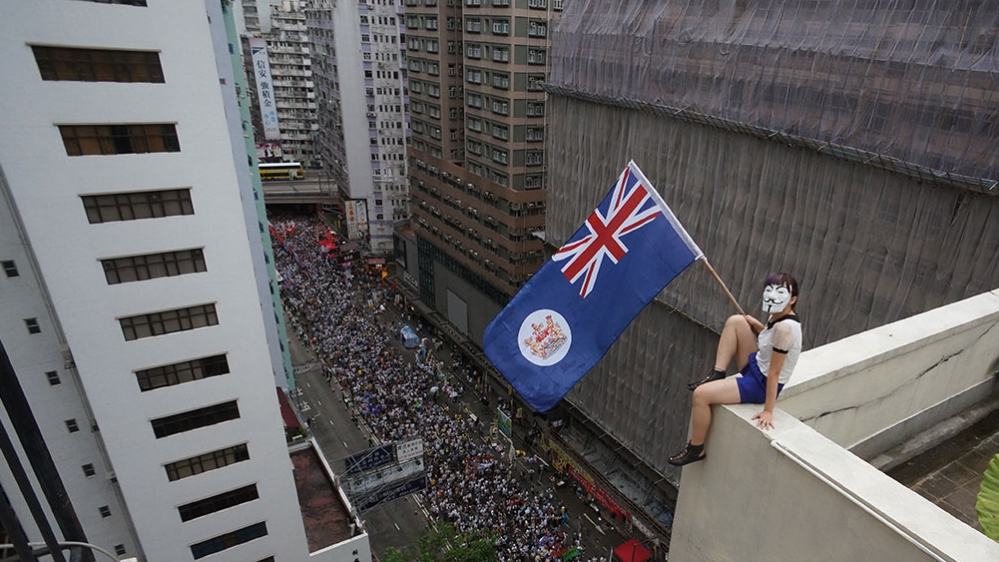 Hong Kong: Rooftopping for freedom and disobedience  - News from Al Jazeera