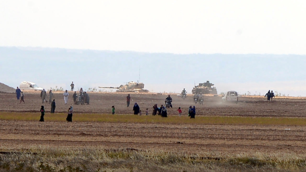 Syrian Crisis: Turkish army enters a new front, Rebels continue to advance