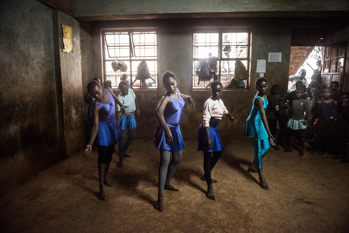 Kenyan children learn ballet at Kibera slum   Kenya   Al Jazeera
