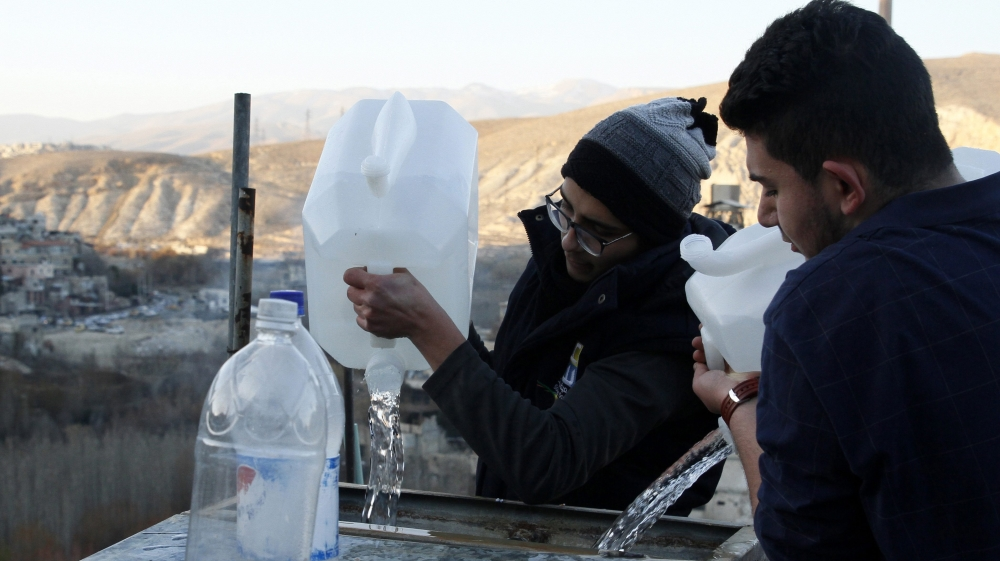 Syria rebels deny deal with government on water supply