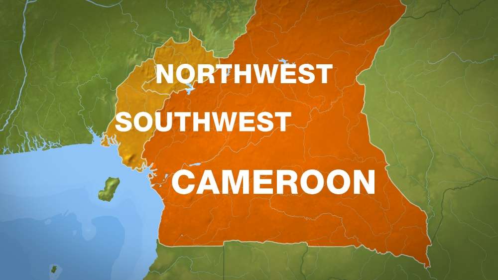 Cameroon Shuts Down Internet In Englishspeaking Areas Cameroon - Cameroon language map