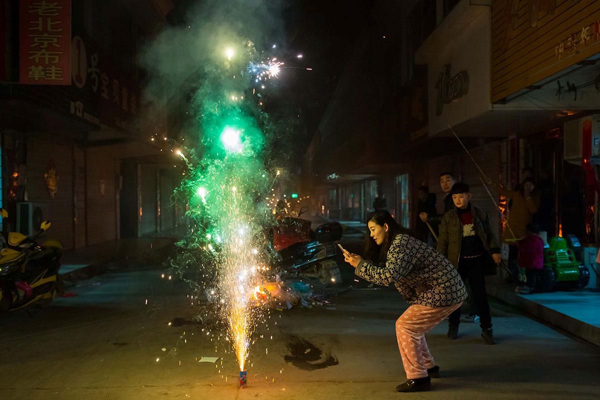世界各地庆祝农历鸡年 - wuwei1101 - 西花社