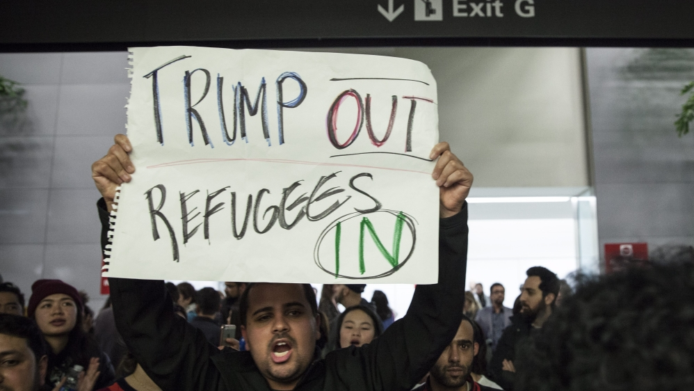Image result for Trump banning of illegal immigrants