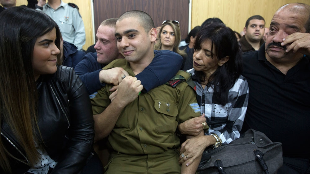 Isreali soldier guilty of manslaughter