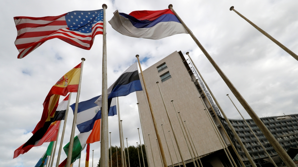 US accusation that Paris-based agency harbours 'anti-Israel bias' dismissed as 'counterproductive and shameful'.