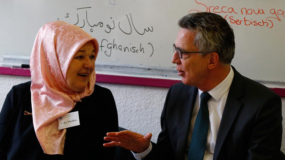 German interior minister floats idea of Muslim holidays