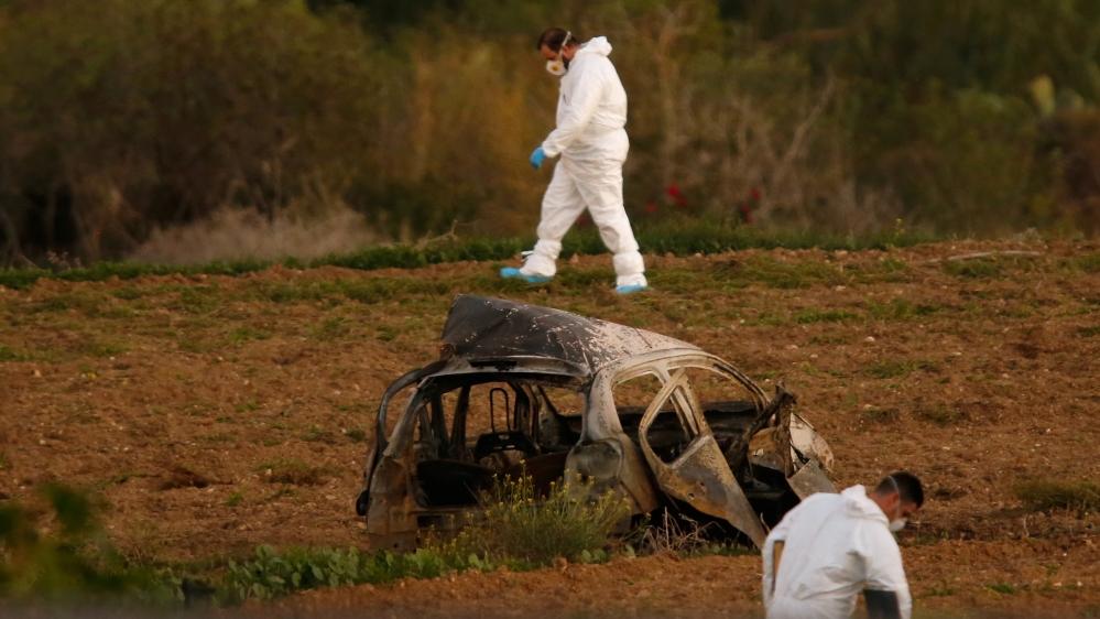 Image result for Daphne Caruana Galizia killed