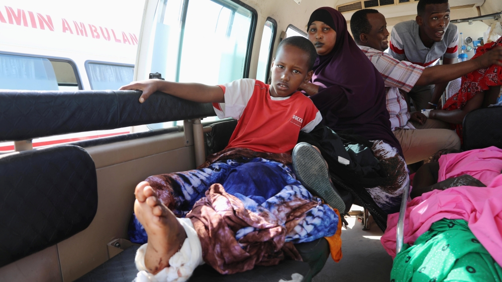 Somalia struggles to cope with aftermath of blast