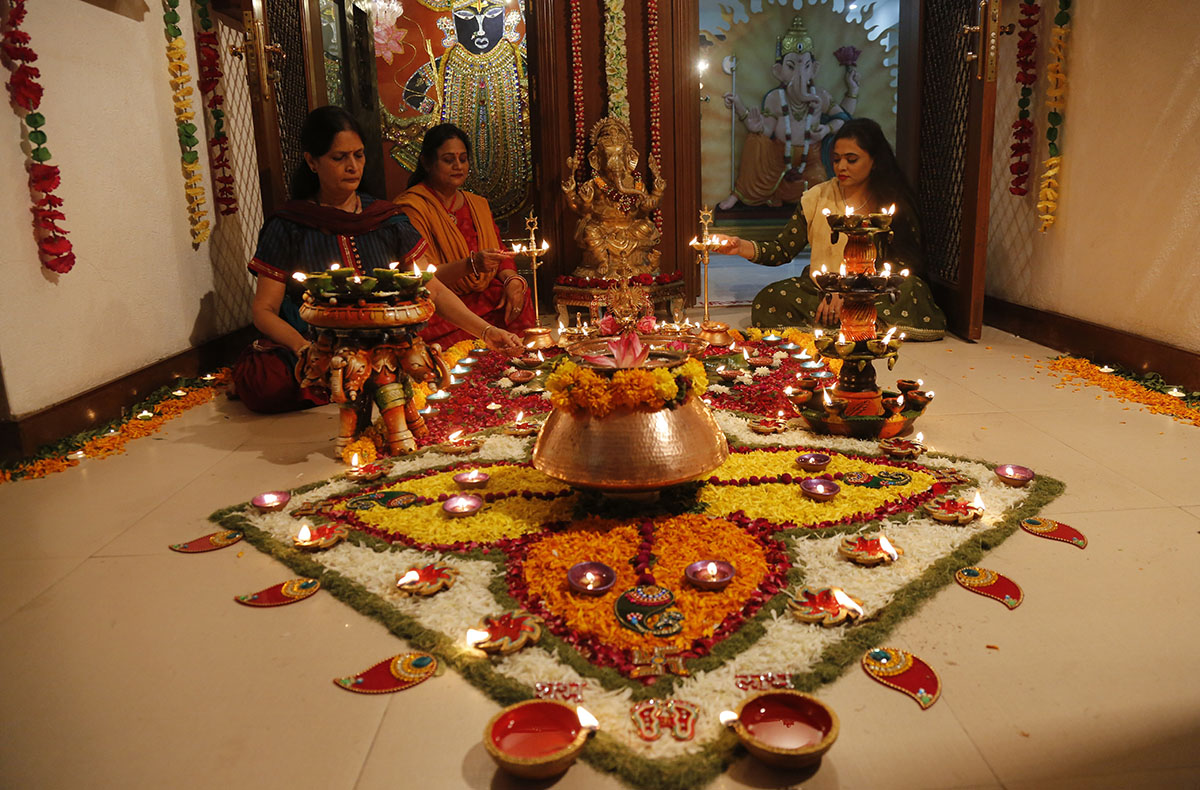 Image result for Celebrate Diwali with Indian Family