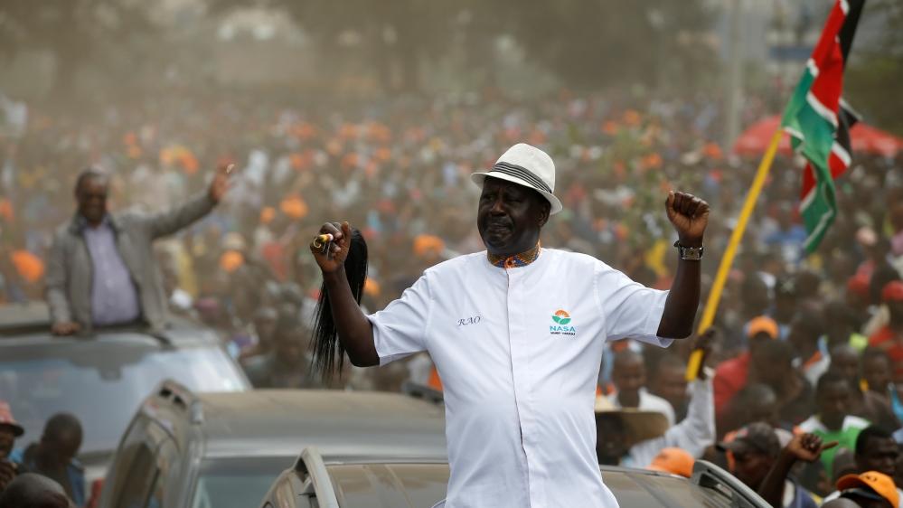 aljazeera.com - Hamza Mohamed - Raila Odinga says he will not recognise Kenyatta win