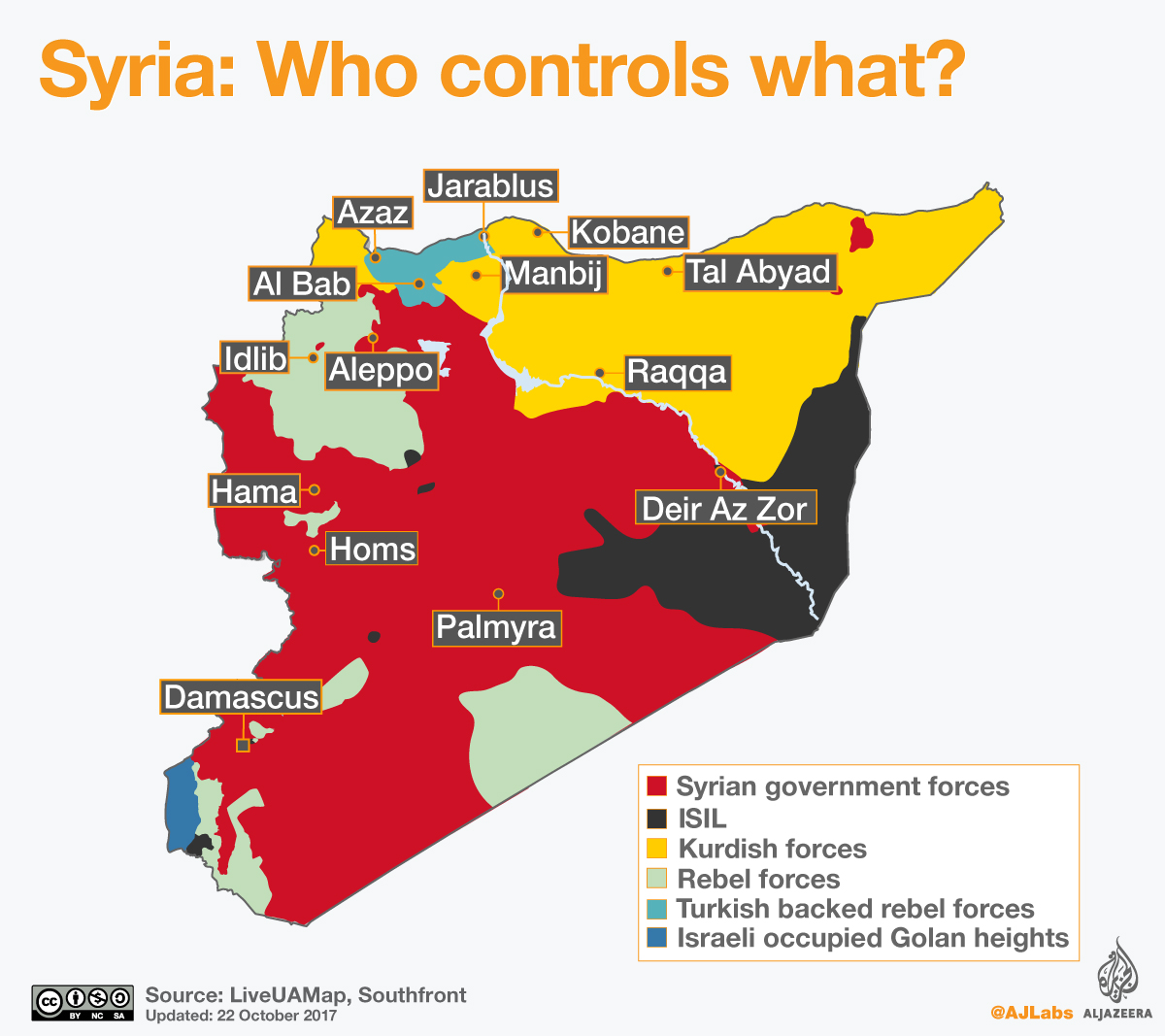 Turkeys operation in Syrias Afrin The key players News Al Jazeera