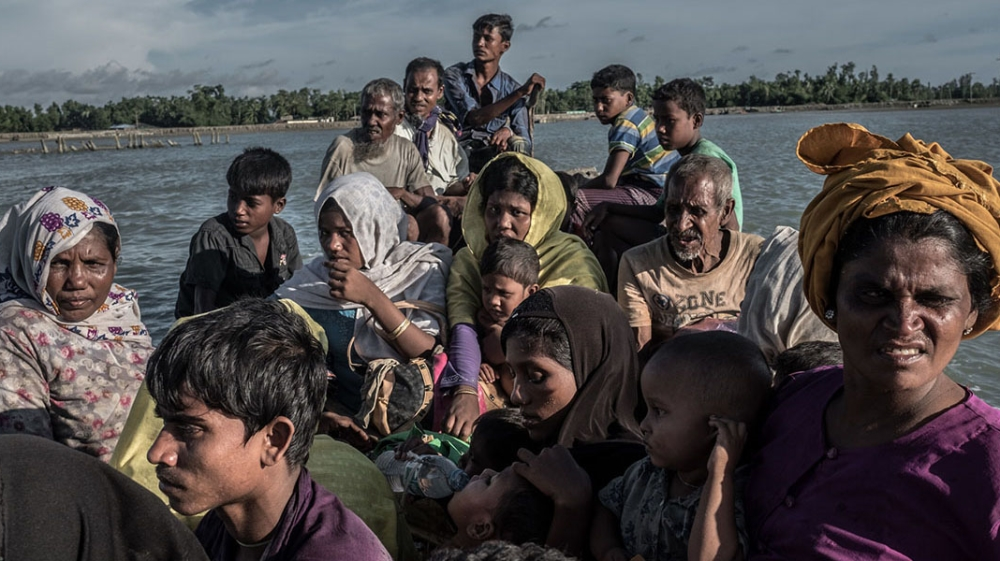 The perilous flight of a Rohingya refugee