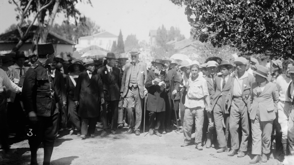100 Years On The Balfour Declaration Explained Israel Al Jazeera