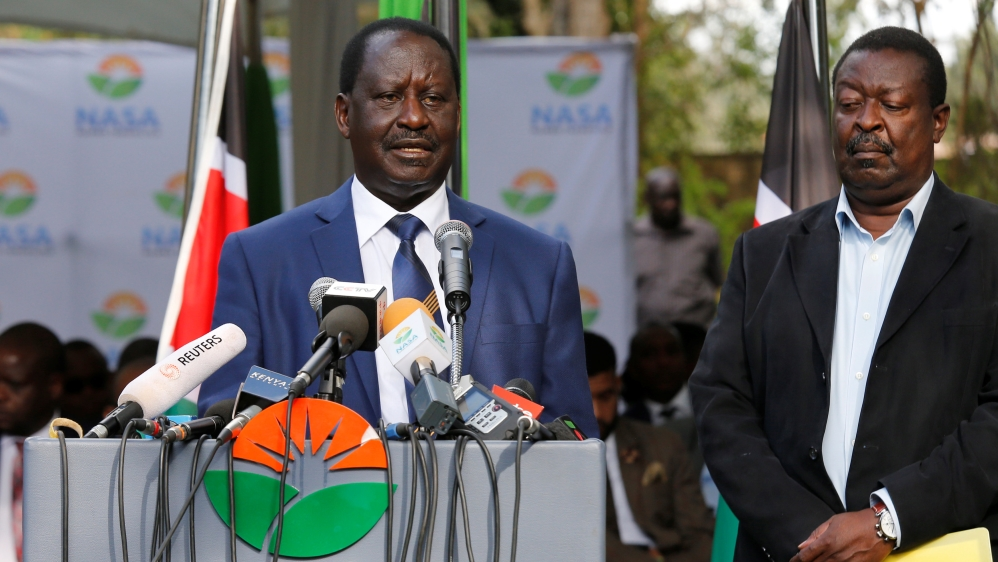 Raila Odinga: Kenya election rerun 'must not stand'