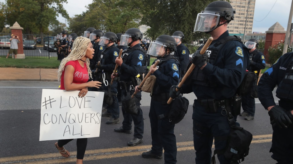 st louis police arrest 307 protesters in 18 days usa
