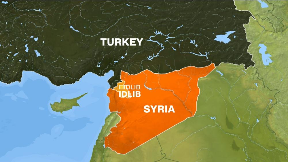 Erdogan Turkey Backing FSA Rebels In New Idlib Push Turkey News - Where is syria and turkey