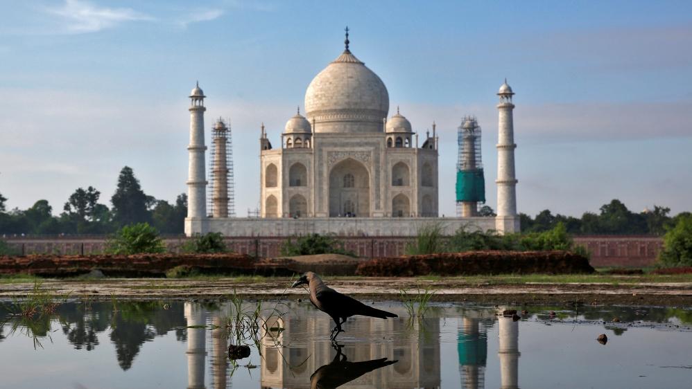 Taj Mahal 'built on Hindu temple', claims Indian MP