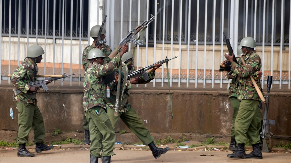 Amnesty called on the Kenyan police to stop firing live ammunition during opposition protests