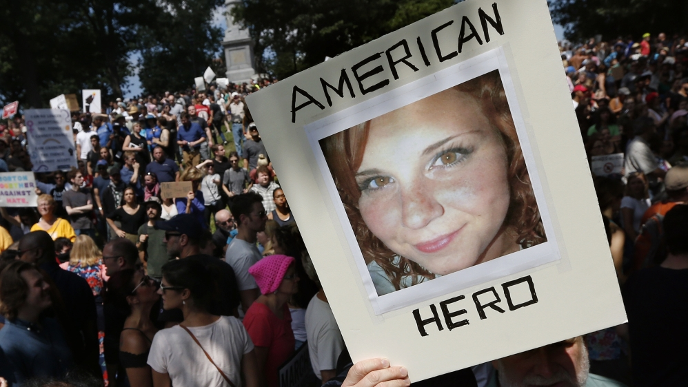 Killed by Hate: Heather Heyer
