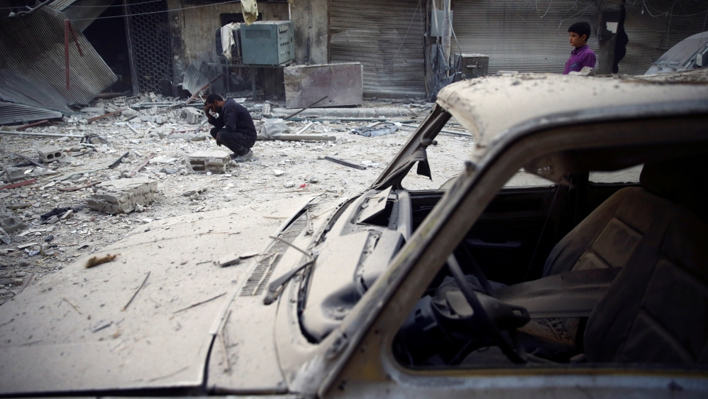 Terrorists attacked the Russian Embassy in Syria