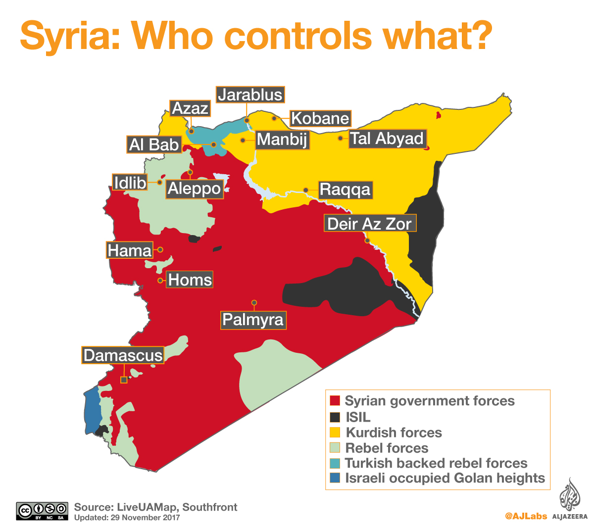 Who controls what in Syria
