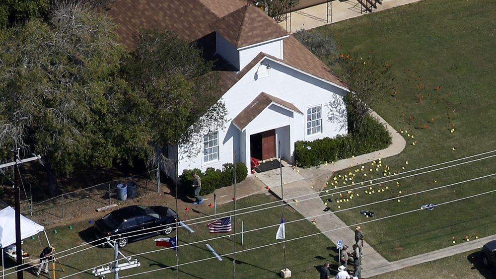 Texas church shooting victim's family files first claim against US Air Force