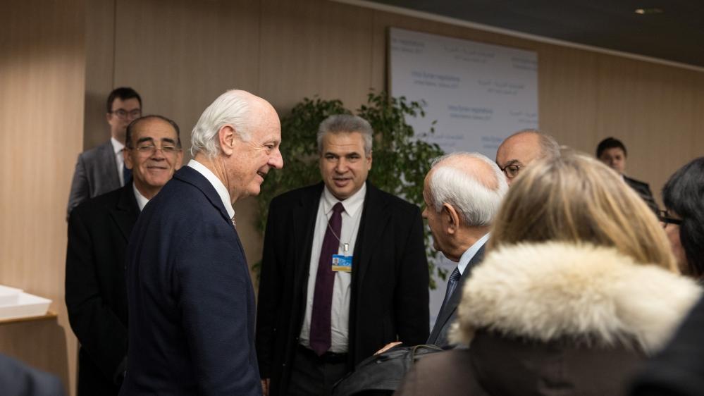 Syrian opposition seeks direct Geneva talks with regime