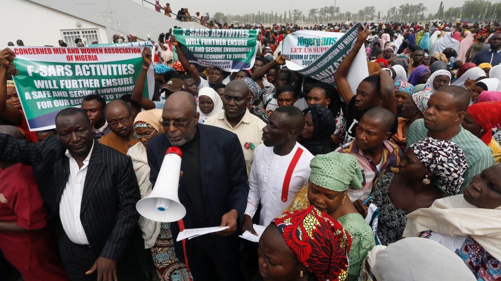 Nigerians want police's SARS force scrapped | News | Al Jazeera