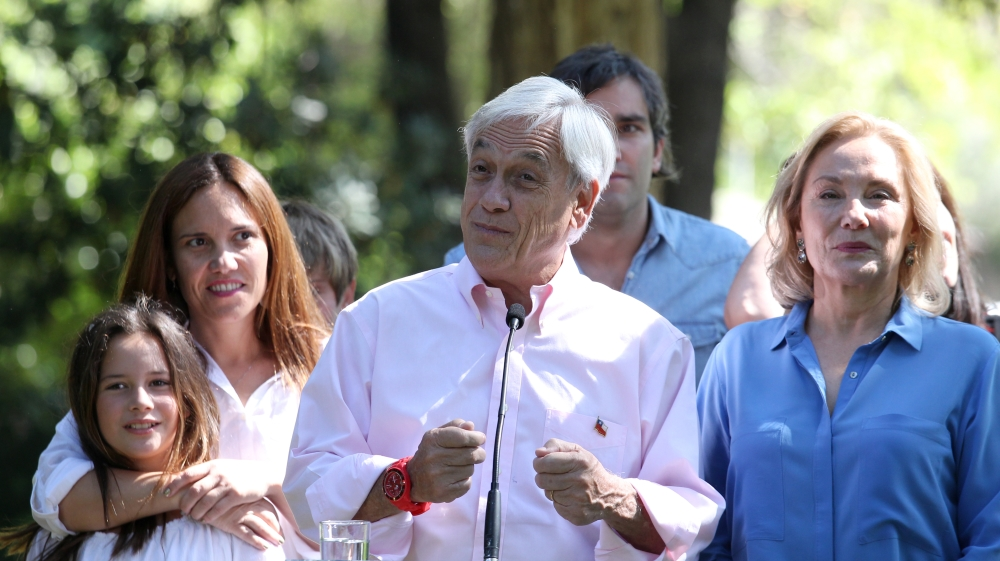 Chile election: Sebastian Pinera projected to win
