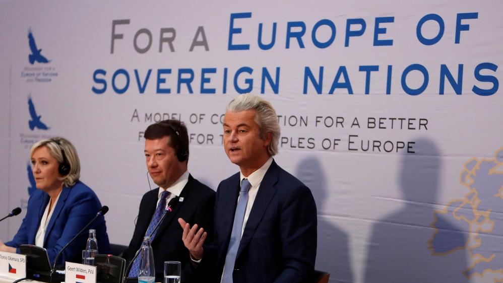 Europe far right hails Trump, slams EU, Islam, migrants